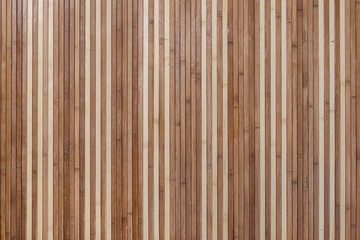 Textured wooden plank as background close up