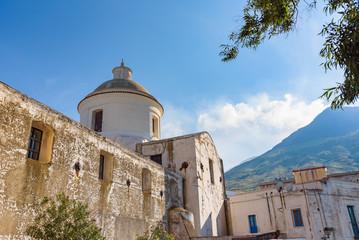 Church of San Vincenzo Ferreri in Stromboli village
