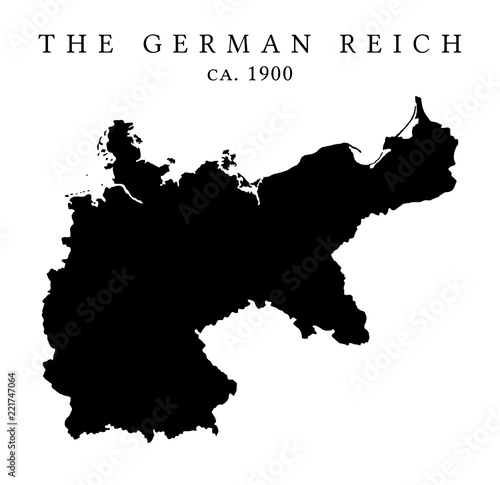 Map Of Germany Circa 1900.The German Reich Map Circa 1900 Stock Photo And Royalty Free Images