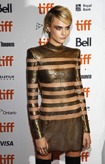 """Cara Delevingne arrives at the world premiere of """"Her Smell"""" at the Toronto International Film Festival"""