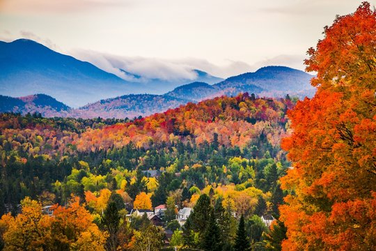 Peak Fall Colors in New England