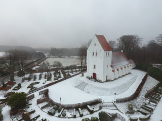 Danish Church in the winter