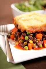 Vegan & Vegetarian Food - Black Bean Shepard's Pie