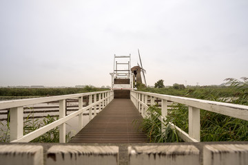 drawbridge at the windmill