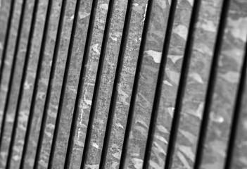 Gitterstäbe Metallgitter