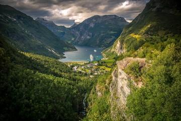 Wall Mural - Famous Gejrangerfjord Norway