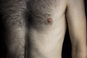Male chest.