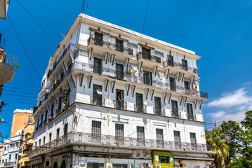 French colonial building in Oran, a major city in Algeria