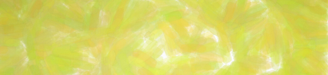 Illustration of yellow Watercolor with low coverage banner background.