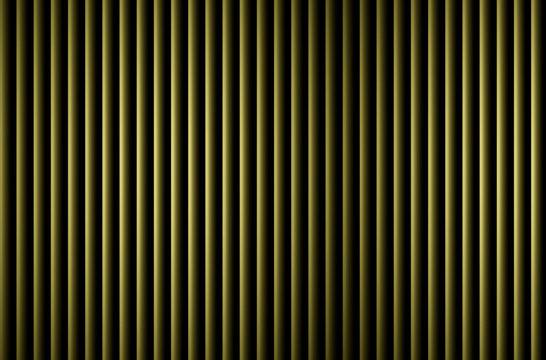 green vertical jalousie blinds with light effect