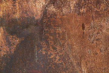 Dark old grunge rusty metal texture background.