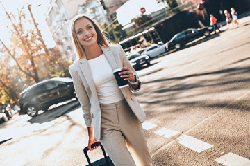 Modern businesswoman.