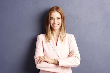 Beautiful young woman. Studio portrait