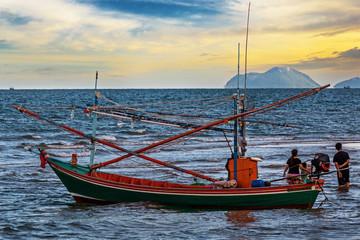 Beauty Island on summer season in Thailand