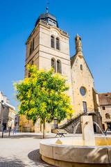 Tour Saint-Nicolas à Paray-le-Monial en Saône et Loire