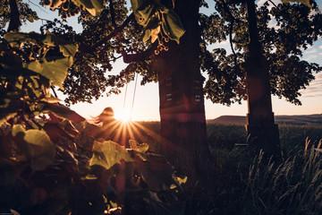 Sunrise swing