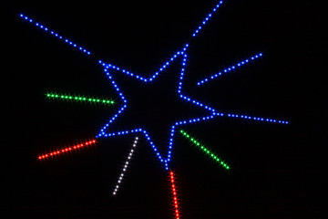 Star light multi-color