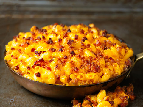 rustic golden baked macaroni and cheese