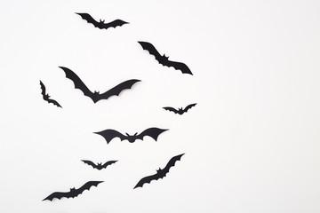 Bat paper decoration halloween