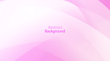Pink color and white color background abstract art vector