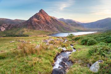 Fototapeta Mount Tryfan in Snowdonia