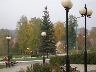Golden autumn in Russia