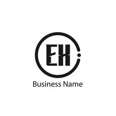 Initial Letter EX Logo Template Design