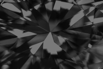 Abstract black Diamond Gemstone Jewelry Background