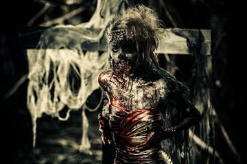 dead walking woman
