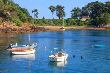 Foto auf Gartenposter Kuste île de Bréhat, Cotes-d'armor, Bretagne