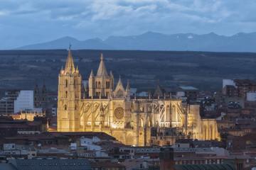 LeÛn Cathedral, in Spain