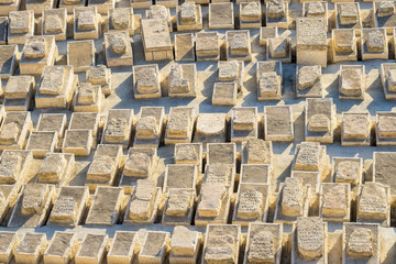Jewish Cemetery on the Mount of Olives, Jerusalem, Israel