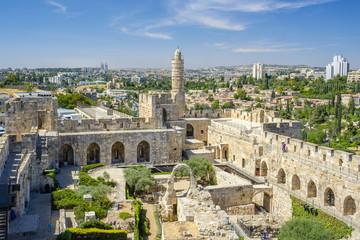 Tower of David, also known as the Jerusalem Citadel, Jerusalem, Israel
