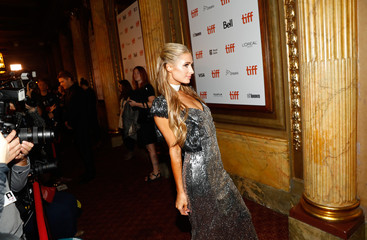Paris Hilton arrives for the world premiere of The Death and Life of John F. Donovan at the Toronto International Film Festival (TIFF) in Toronto
