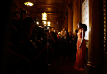 Actor Tika Sumpter arrives for the international premiere of The Old Man & the Gun at the Toronto International Film Festival (TIFF) in Toronto