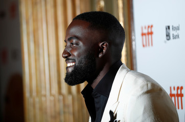 Actor Shamier Anderson arrives for the premiere of Destroyer at the Toronto International Film Festival (TIFF) in Toronto