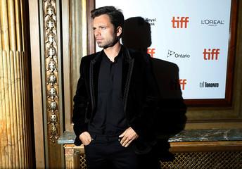 Actor Sebastian Stan arrives for the premiere of Destroyer at the Toronto International Film Festival (TIFF) in Toronto