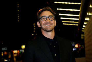 Actor Lee Pace arrives for the premiere of Driven at the Toronto International Film Festival (TIFF) in Toronto