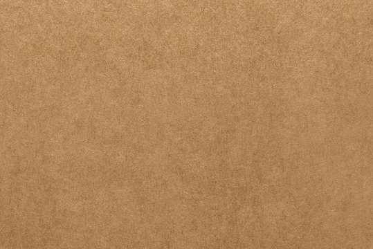 Light brown kraft paper texture for background