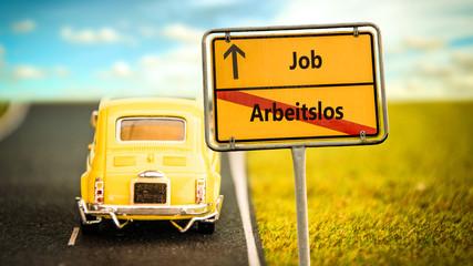Schild 355 - Job