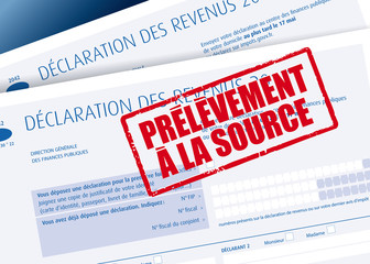 Impôts - Prélèvement à la source