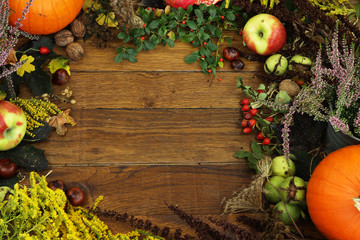 Fototapeta piękna złota jesień obraz