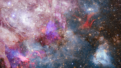 Abstract background - galaxy in space. Elements of this image furnished by NASA.