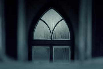 Old Castle, Vintage Window in Castle