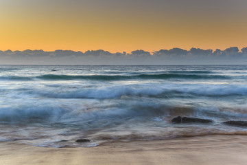 Sunrise Seascape and Swells