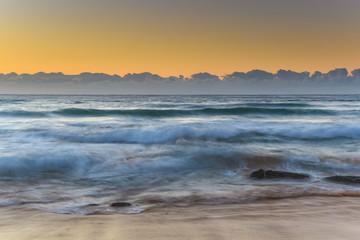 Sunrise Seascape and Swells