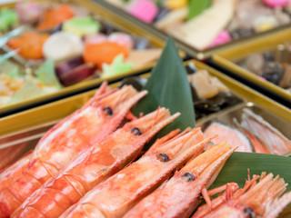 おせち料理 / 日本のお正月イメージ