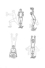 Exercise athletics.