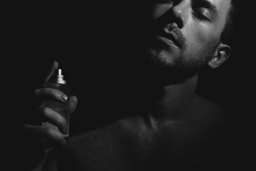 Male perfume. Fototapete