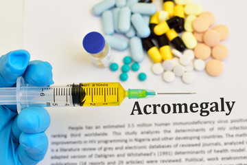 Drugs for Acromegaly treatment, abnormal growth hormone disease